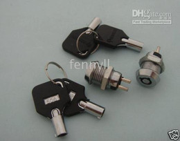 Key Switch ON OFF Lock Switch KS4 w  Plastic Handle 2 pcs per lot