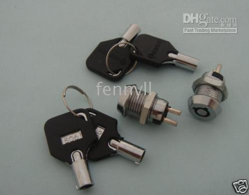 Wholesale Key Switch ON OFF Lock Switch KS4 w Plastic Handle per
