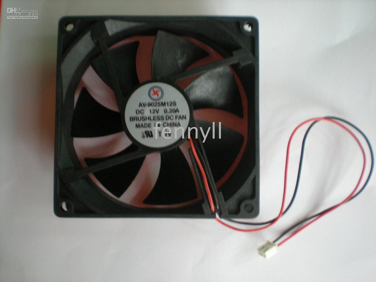 Wholesale Brushless DC Cooling Fan Blade V S A Black per
