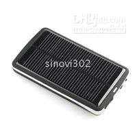 Wholesale Portable Solar Charger mAh Batteries Fit for Mobile Phone Digital Camera and PDA