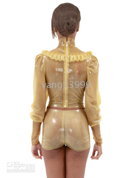 latex clothing - Latex clothing latex clothes and shorts translucent sexy