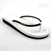 Wholesale Couple slippers men slippers women slippers slippers with flat shoes sandals beach sandals black