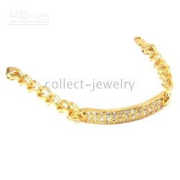 authentic 18K yellow gold jewelry gep solid bracelet gp
