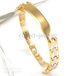 smart 18K yellow gold gep solid bracelet jewelry gp