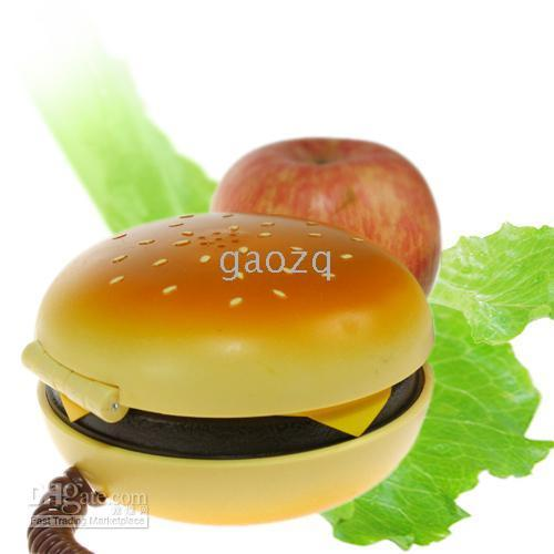 Wholesale New Novelty Juno Hamburger Cheeseburger Burger Phone Telephone