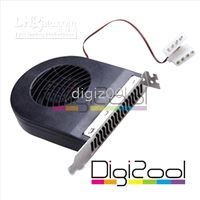 Wholesale PCI Slot Exhaust Fan Blower Card Video Cooler for PC Apple Mac Macbook iMac Thermal Performance Hot