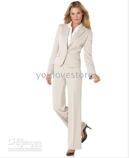 Cotton 2-Piece Suits Women Desinger Women Suit, Fashion Suit, Accept Custom Women Suit, Tailored Suit, Women Business Suit