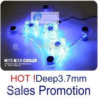 Wholesale NOTEBOOK COOLING PAD LAPTOP COOLER X LED FAN sales promotion