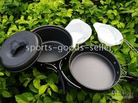 Wholesale Camping Cookware Hiking Backpacking Cooking Utensil Pot