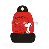 Wholesale A001 Cartoon Car auto Seat Cover Covers Snoopy Car Accessories Car Decoration ten in one