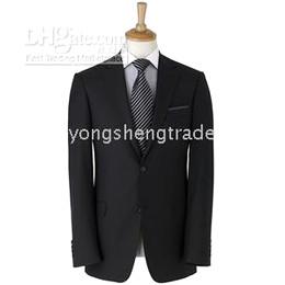 New Arrival Black Suit Mens Suit Pants Brand Suit Accept Custom Men Suit