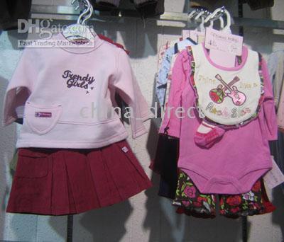for Spring/Autumn baby sweatsuit - Baby Sweat Suit HOODED sweatsuit coat Top pants Jumper sets set new