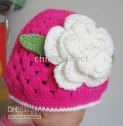 Handmade Cotton Crochet Hat Cap Beanie Baby Toddler Girl NEW 32pcs lot Mixed style hot