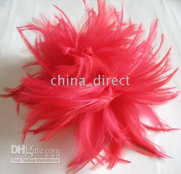 FLOWER Feathers PIN BROOCH hair clip 30pcs lot PERFECT DESIGN