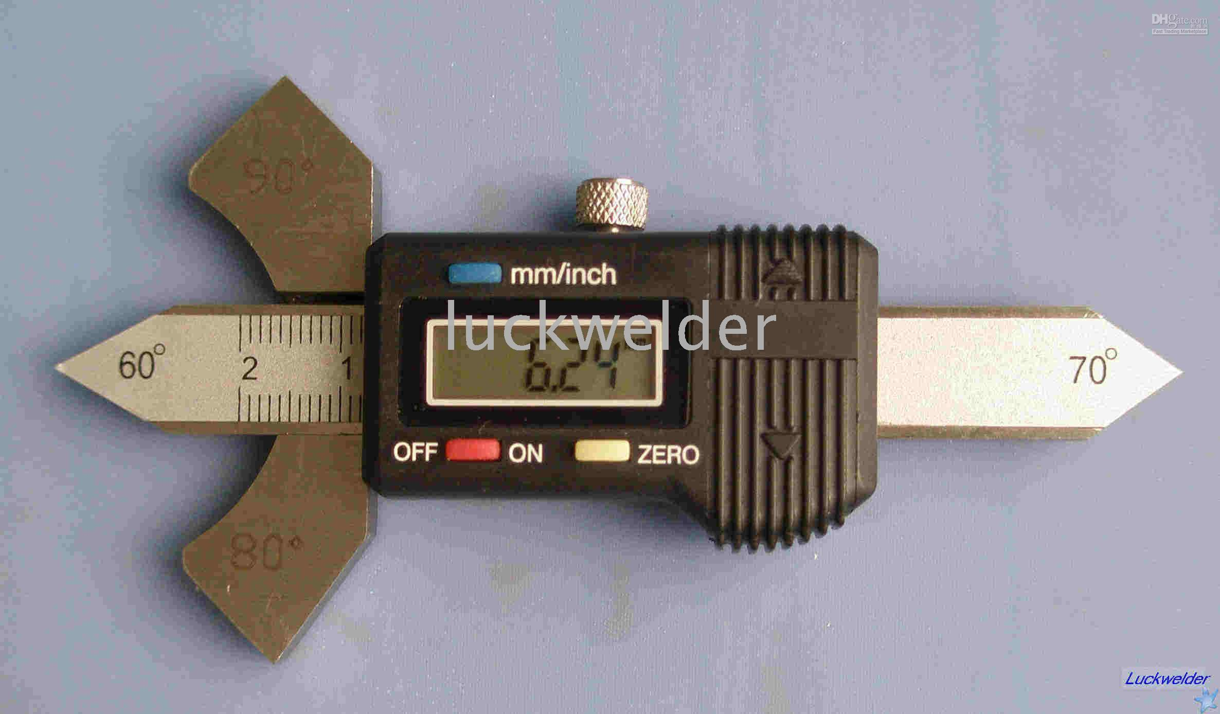 Wholesale Digital Welding Gauge Weld Test Ulnar Metric Inch Gage