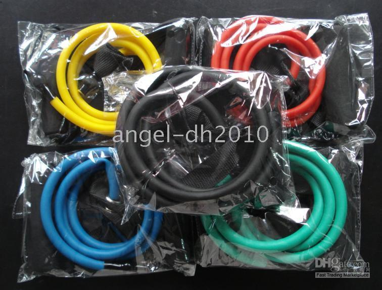 Wholesale Resistance Bands For P coats Extreme X Fitness colors DHL