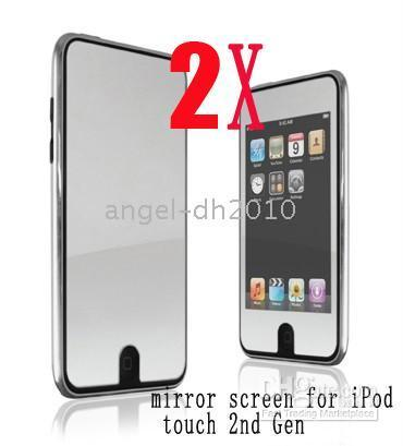 Wholesale 2500 x x Mirror Screen Protector for Touch nd Gen