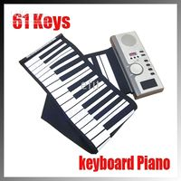 Wholesale Synthesizer ROLL UP SOFT PORTABLE ELECTRONIC PIANO KEYBOARD KEYS with CE