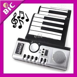 Piano del teclado suave 49 en venta-Sintetizador MIDI Roll Up Teclado Teclado Electrónico Piano 49 Teclas con CE 24 piezas
