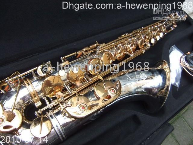 Wholesale Brand New Tenor Saxophone Silver top quality