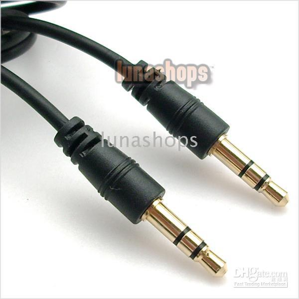 Wholesale 200CM MM TO MM AUDIO EXTENSION CABLE LEAD MALE TO MALE