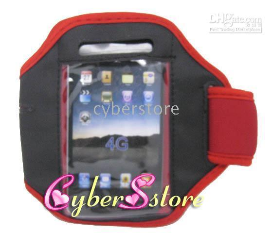 Cheap 50pcs lots New Sport GYM Armband Case Cover for iphone 4G 4s 3G 3gs