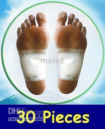 Wholesale Detox Foot Pads Patch Detoxify Toxins Adhesive BODY Cleansing FOOT PADS