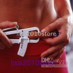Wholesale Free Ship pieces of Personal Body Fat Caliper Tester Accurate Measure