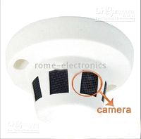 Wholesale Smoke Detector Camera Dome Security CCTV Wired CCD Color Sharp inch Chip TV