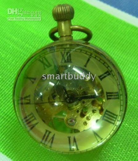 balls art works - ELEGANT MECHANICAL CRYSTAL BALL WATCH WORK WELL