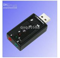Wholesale USB D Virtual Channel Audio Sound Card Adapter