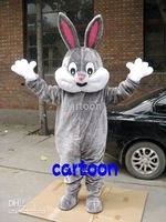 Wholesale Easter Bunny Rabbit Adult Costume Mascot Free S H