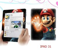 Wholesale Game characters fashion Ipad skin sticker Anti static Anti scratch wear resisting