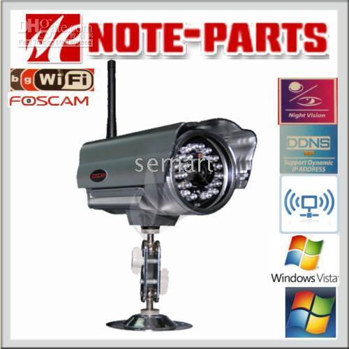 Wholesale Foscam Waterproof Network WEB IP Camera Mobile View Fast shipping
