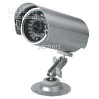 Wholesale 10m m IR Waterproof CCD Camera with Auto light test for control IR parts switching and brightness