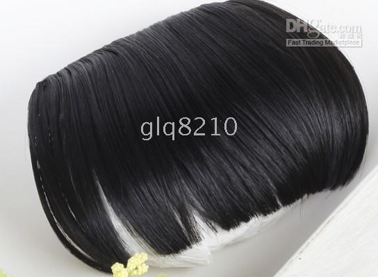 Wholesale Pretty hair Accessories Neat Fringes Bangs High Temperature Wire Production Women s New arrival fashion