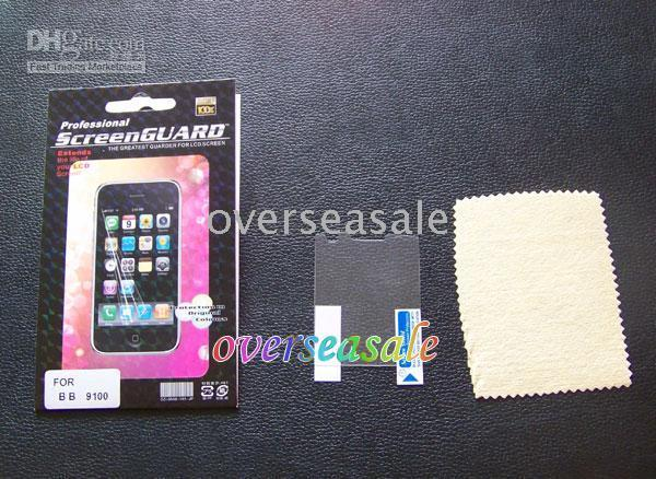 blackberry pearl - Clear LCD screen protector guard film skin for for blackberry Pearl G Passort Q30 Q10 Z10 Z30 Q20