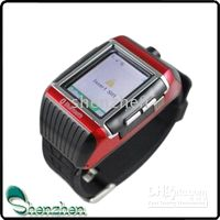 Wholesale W08 watch phone Water resistant Camera Voice function touch screen Quad band Dual Bluetooth
