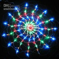 Color 120 LED Spider NET light for Wedding Party decorate , C...