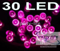 NEW Pink 30 LED Battery String Light Wedding Party Christmas...