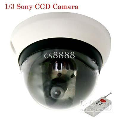 Wholesale New inch Shap CCD DOME Security Camera Lines Horizontal Definition DC V Power Supply