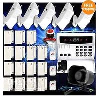 Wholesale Wireless Home Security Alarm Systems Kit Auto Dial Burglar Intruder Alarm Systems