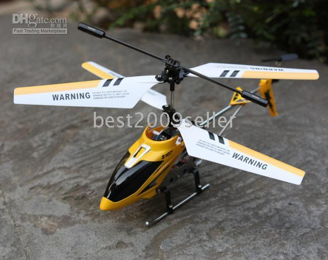 Wholesale SYMA Original S107 S107G Metal Ch CH gyro Gyroscope RC Mini Helicopter gift toy