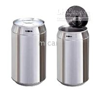 Wholesale Automatic Can Bin stainless steel infrared automatic sensor trash can with the barrels L L L