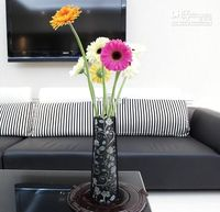Wholesale Promotion Green flower vase DIY vase Folding vase PVC vase Foldable Vase Small Opp bag