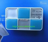 Wholesale Six slots all in Card reader USB card reader