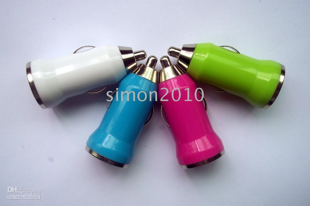 Wholesale MiNi USB Car Charger For Ipod nano touch iphone G GS G
