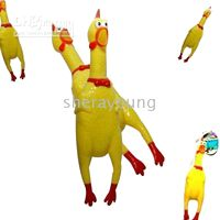 Wholesale Screaming chicken gag gifts funny toy christmas gifts Super Squeaky
