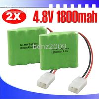 Wholesale 4 V mAh Ni MH Receiver Rechargerable Battery