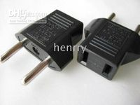 On sale Hot selling 100pcs EU standard power adaptor transfe...